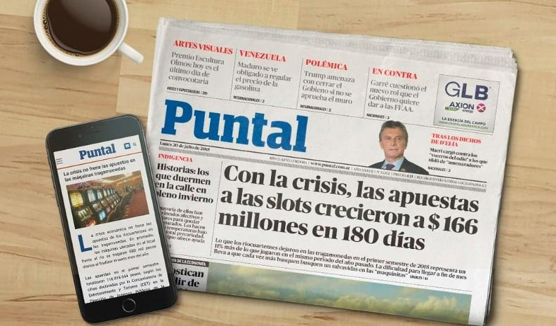 Diario Puntal cumple 38 años y renueva su estética | Quatro TV ...